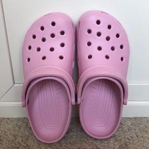 Light Pink CROCS